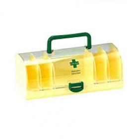 Dynamic Mart Portable Plastic Medicine Carry Case