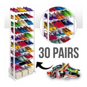 Amazing 10 Layer Shoe Rack upto 30 Pairs