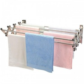 Expandable Wall Mounted Aluminium Towel & Clothes Drying rack