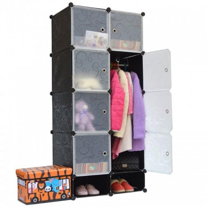 Systo 8 Cubes Clothes Wardrobe