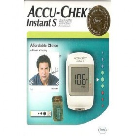 Accu-Chek Gluco Meter Instant-S With 10 Strips