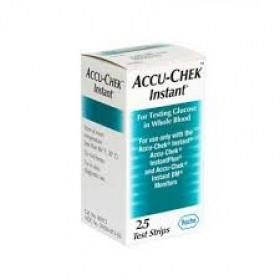 Accu-Chek Instant-S Test Strip Box - 25 Pcs