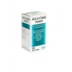 Accu-Chek Instant-S Test Strip Box - 50 Pcs