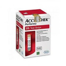 Accu-Chek Performa Test Strip Box - 25 Pcs