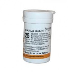 Beurer Blood Glucose 50 Test Strips For GL 44/50/50 Evo (464.15)