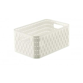 Rotho Basket A6 + 4 L Country White
