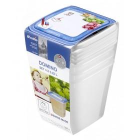 Rotho Domino Freezer Box 0.22 L