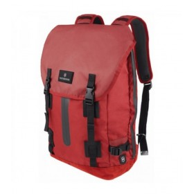 ALMONT 3.0 Flapover Drawstring Laptop Backpack - Red