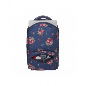 Wenger Colleague Navy Floral Print backpack