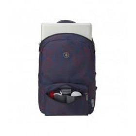 Wenger Colleague Navy Outline Print Backpack