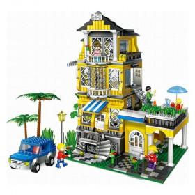 Banbao 8368 1100 pcs 3 in 1 Romantic House Blocks Toys