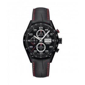 Tag Heuer Grand Carrera Calibre 16 Day Date with Black Bezel