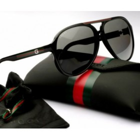 Gucci Large Aviator Sunglass