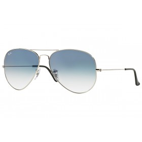 RAY BAN 3025 GRADIENT BLUE SILVER