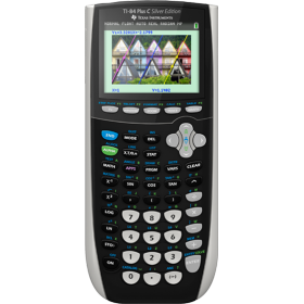 Texas Instruments TI-84 Plus C Silver Edition Graphing Calculator