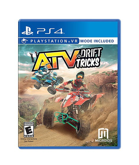 ATV Drift & Tricks Game For PS4